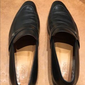 Gucci Shoes - Gucci men's black loafers size 10 (US 11)